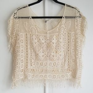 Urban Outfitters Fringe Top